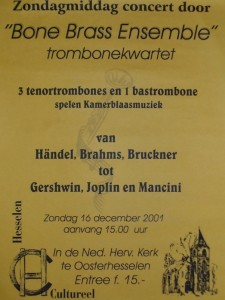 BoneBrass in Hesselen Cultureel