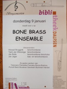 BoneBrass in Brugconcerten Dalfsen