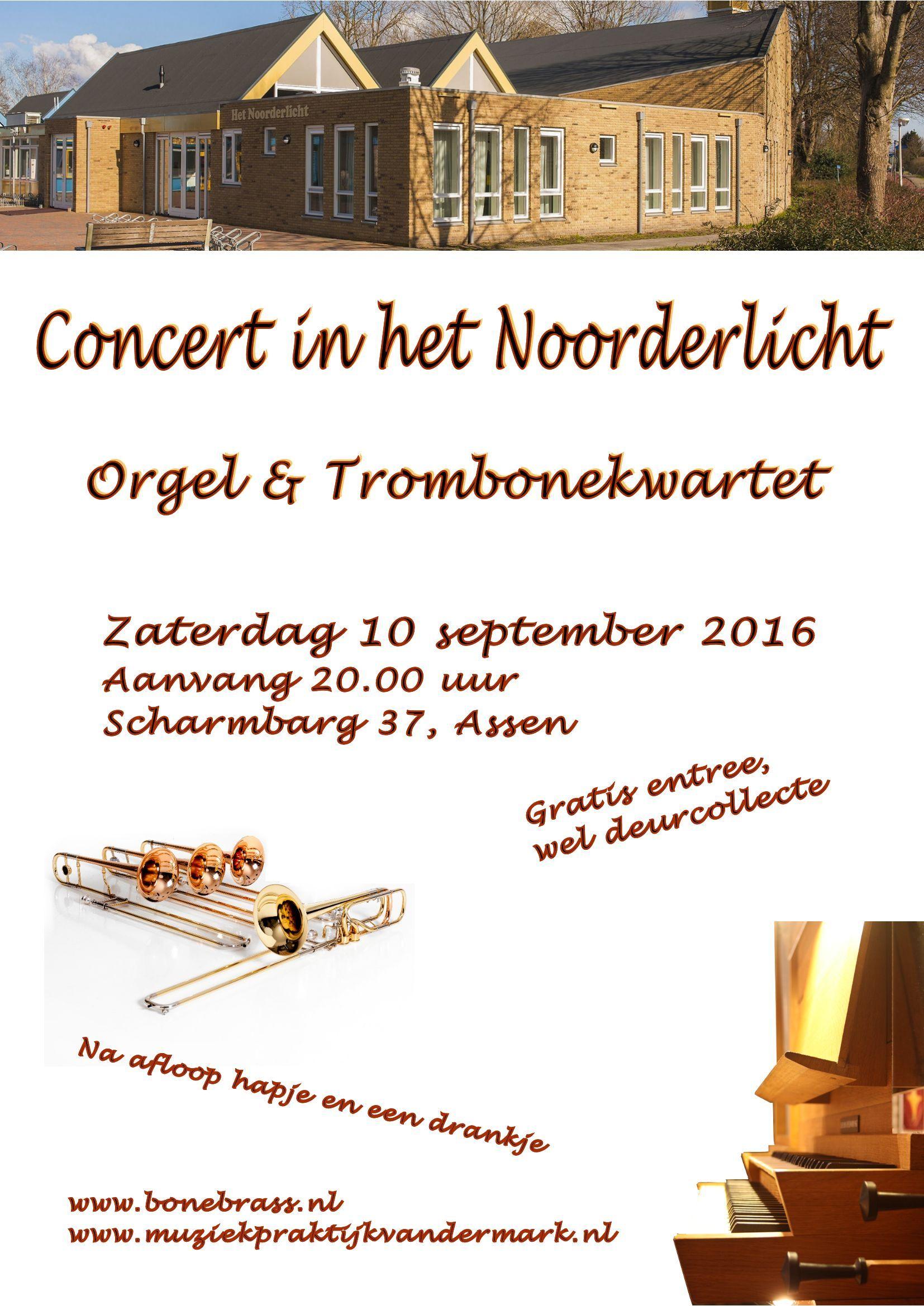 Poster orgel en BB Assen 10 sept