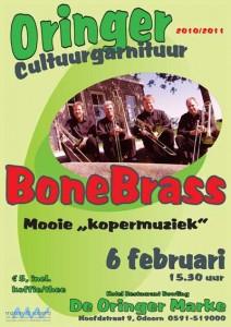 BoneBrass in de Oringer Cultuurgarnituur tweede concert
