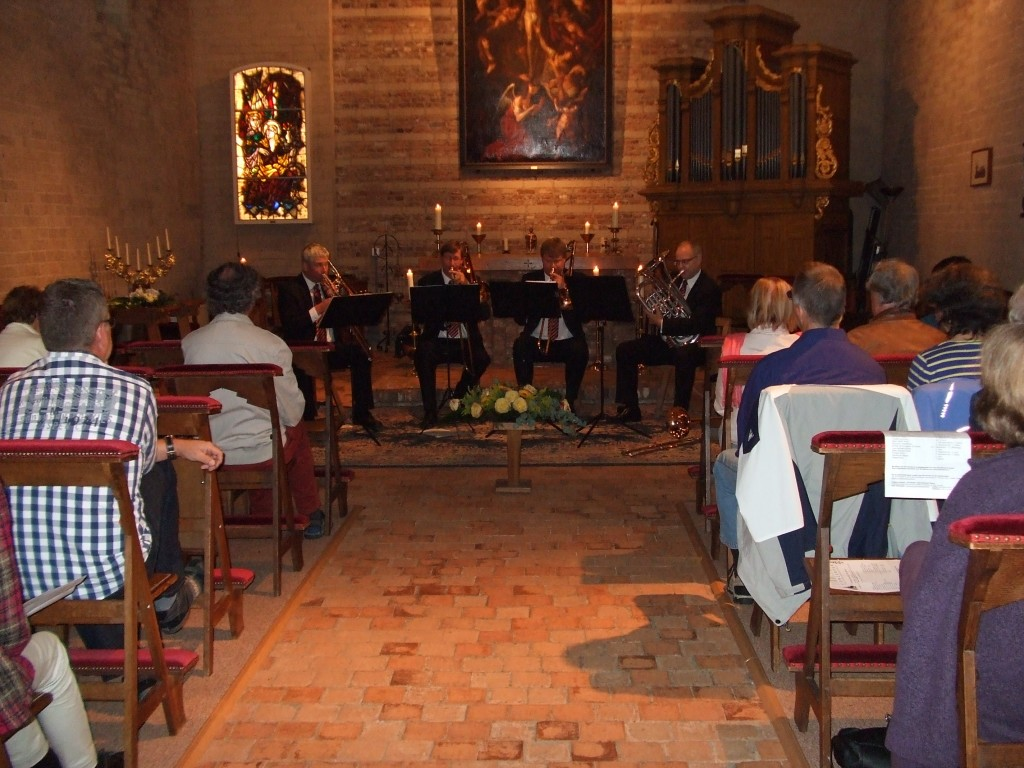 BoneBrass trombone quartet Waalre Willibrord concerten