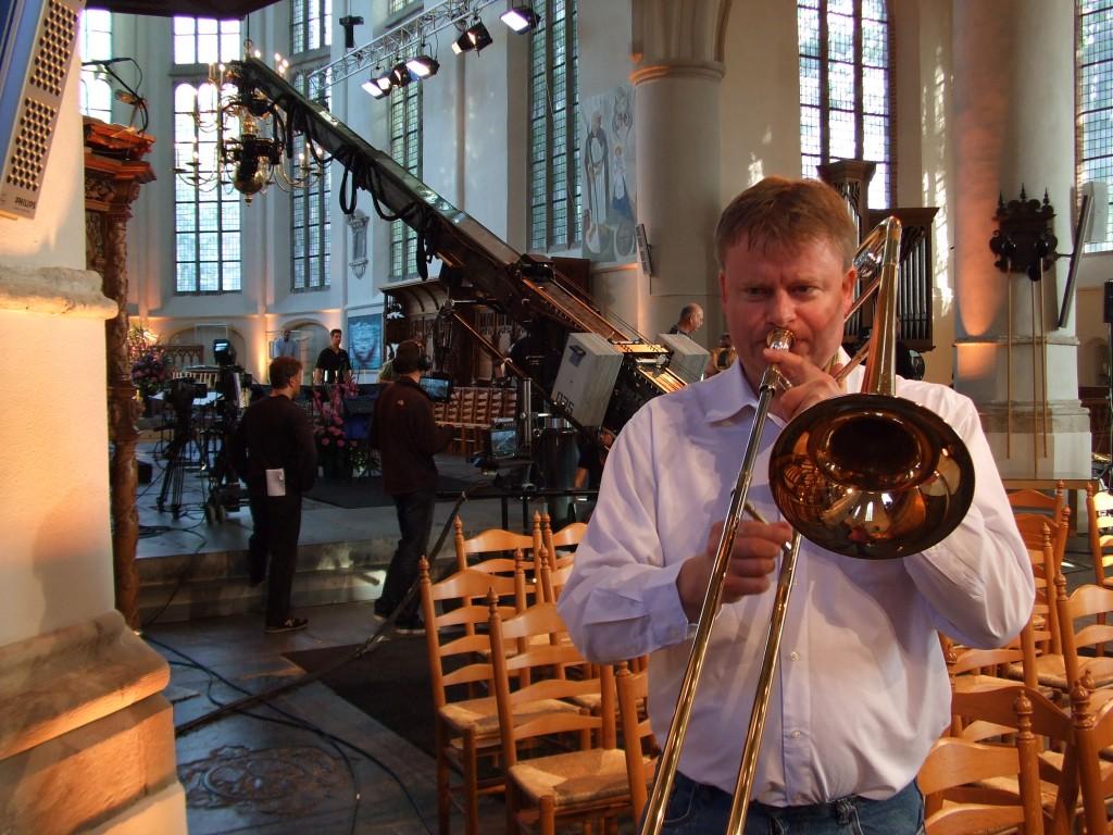 Wessel Bruggink trombone Nederland Zingt