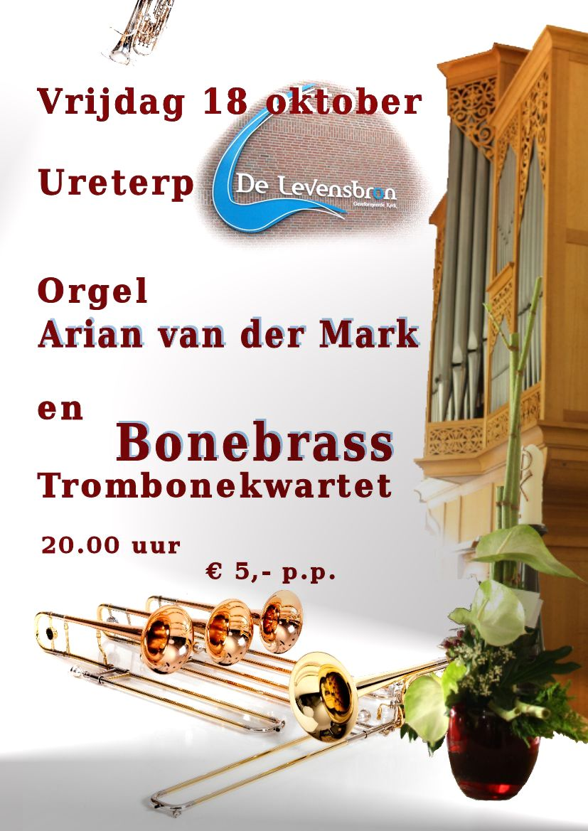 arian van der mark bonebrass trombone kwartet