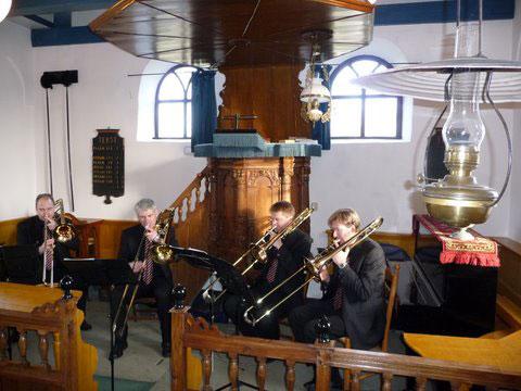 BoneBrass trombone quartet