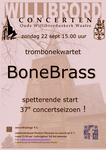Willibrord concerten Waalre BoneBrass trombone quartet