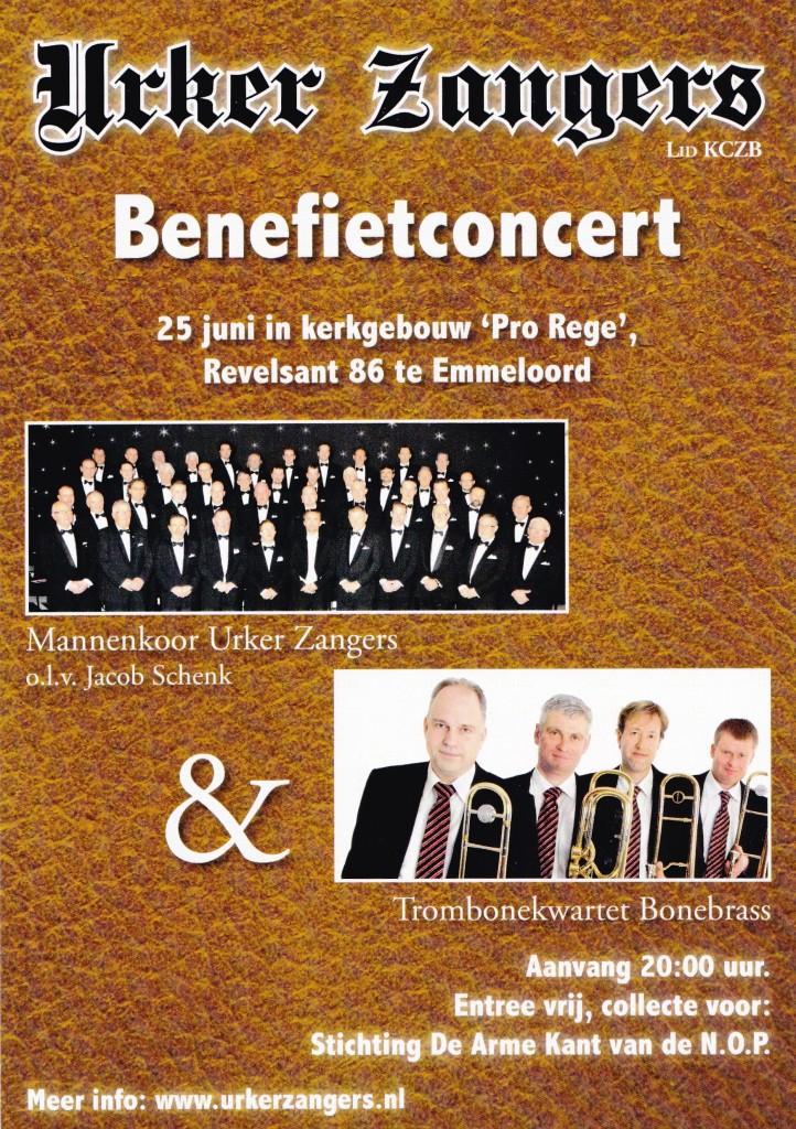Urker Zangers BoneBrass trombone quartet