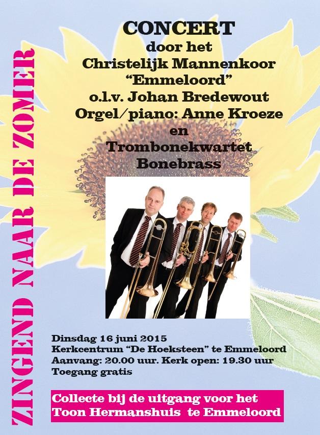Mannenkoor Emmeloord & BoneBrass